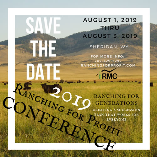 2019 Ranching for Profit Conference – RMC